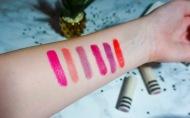 Topshop lipstick swatches