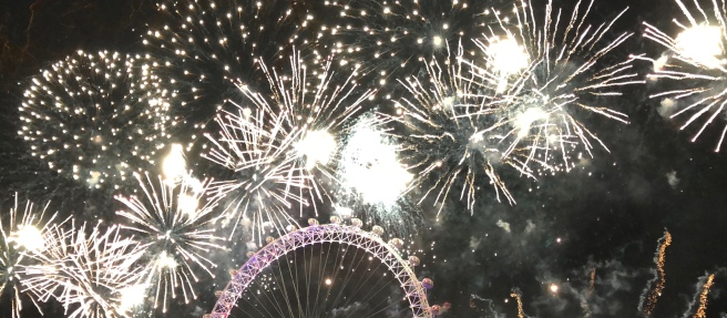 London Fireworks 2017